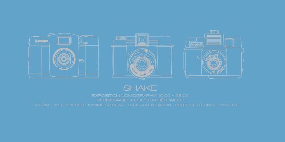 SHAKE - EXPOSITION LOMOGRAPHY