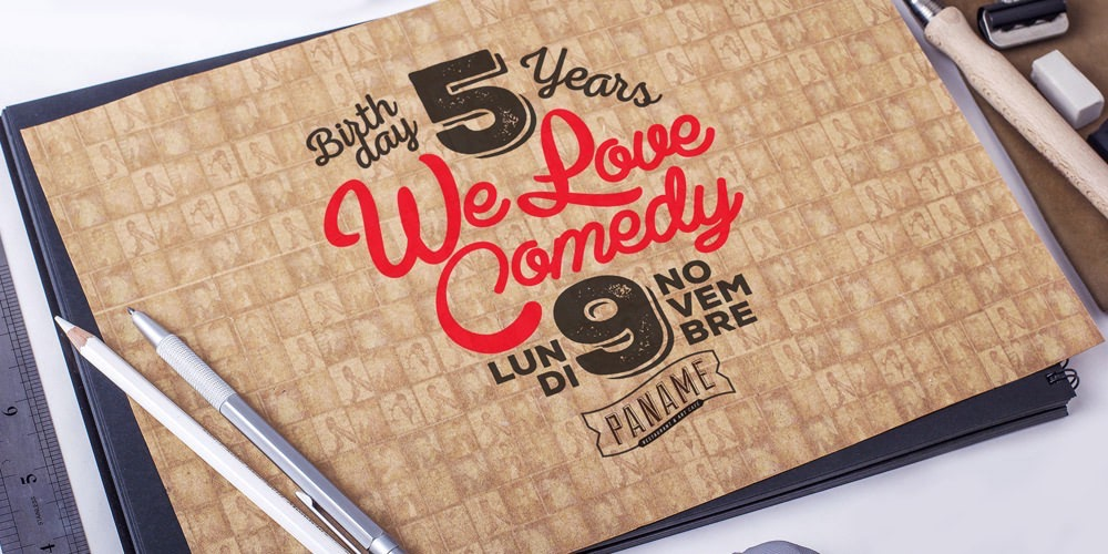 Happy birthday We Love Comedy !